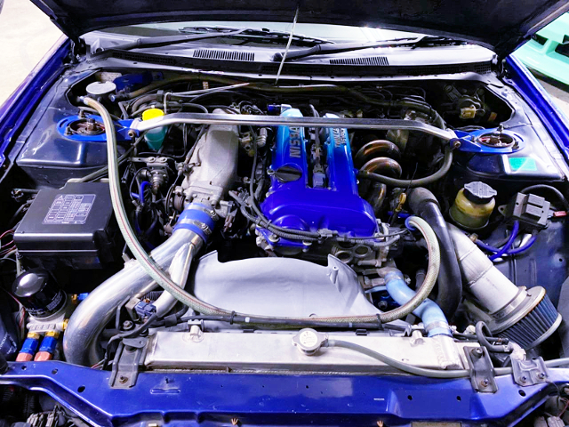 SR20DET With TOMEI M7960 TURBOCHARGER.