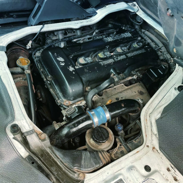 SR20DET TURBO ENGINE.