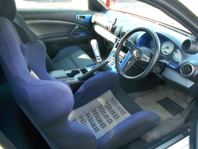 DRIVER'S DASHBOARD OF S15 SILVIA INTERIOR.