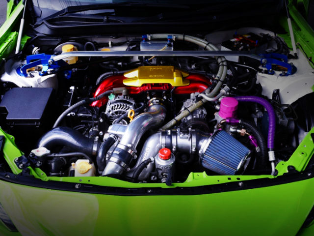 FA20 With HKS GT-7040L SUPERCHARGER.