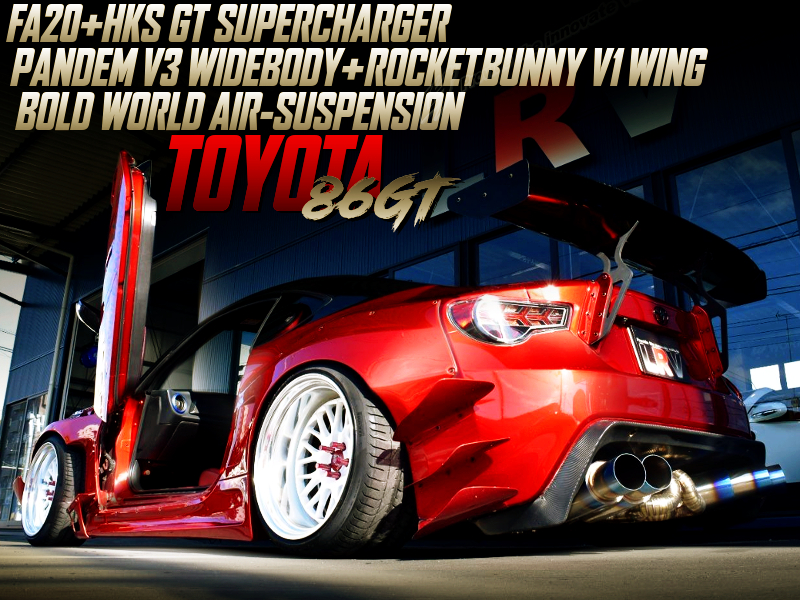 SUPERCHARGED And PANDEM WIDEBODY WITH TOYOTA 86GT.