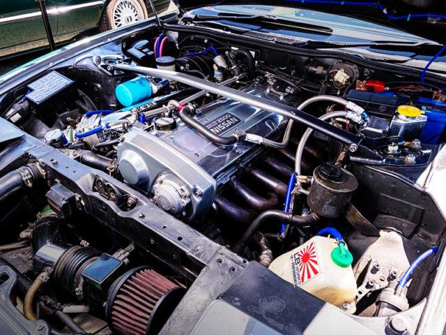 RB25DE NATURALLY ASPIRATED ENGINE.