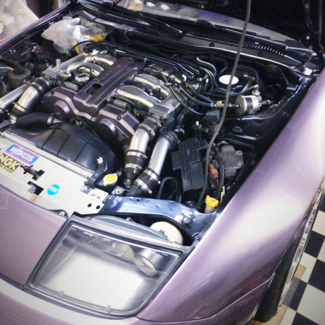 ZEEK 300ZX VG30DETT TWINTURBO ENGINE OF 530PS.