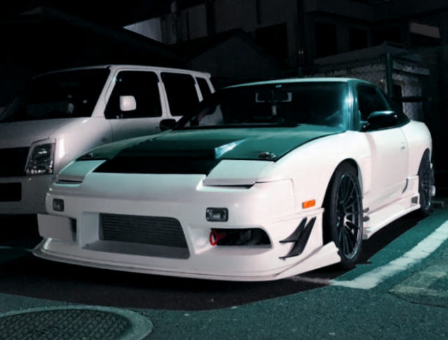 FRONT FACE OF 180SX.