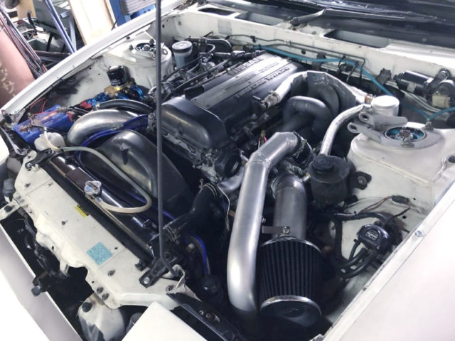 SR20DET with BW EFR6758 TURBO.