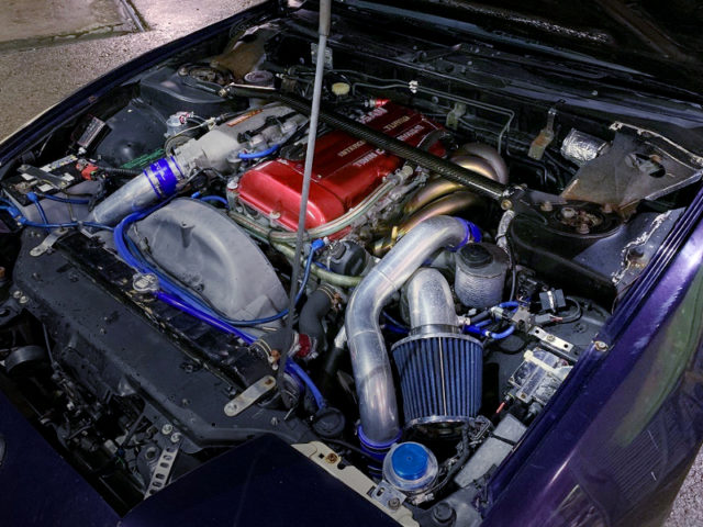 SR20DET TD06L2-20G TURBO ENGINE.