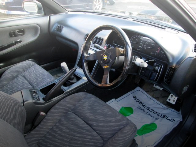 INTERIOR OF 180SX TYPE-2.