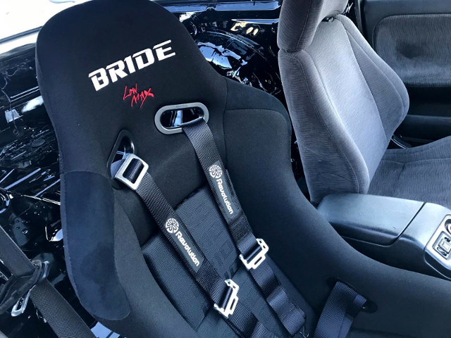 DRIVER'S. BRIDE FULL BUCKET SEAT.