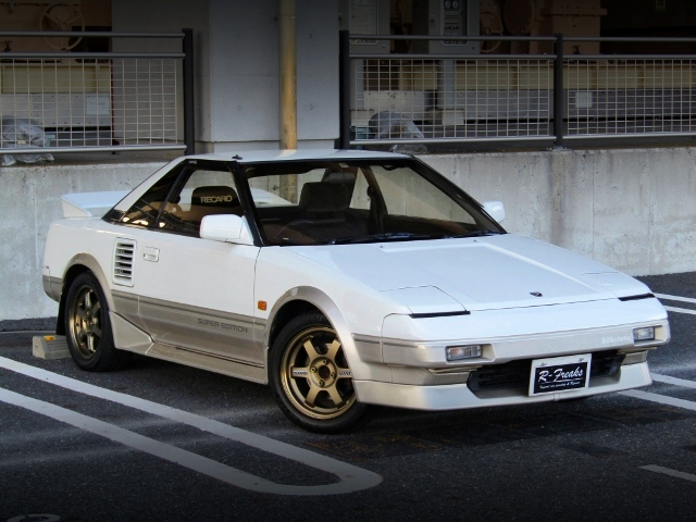 FRONT EXTERIOR OF AW11 MR2.