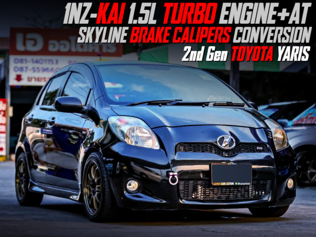1.5L TURBOCHARGED 1NZ-FE With 2nd Gen TOYOTA YARIS.