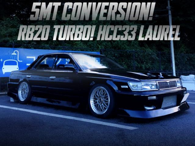 5MT CONVERSION TO HCC33 LAUREL.