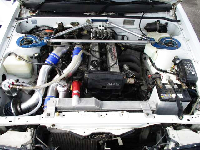 4A-GZE SUPERCHARGER ENGINE.