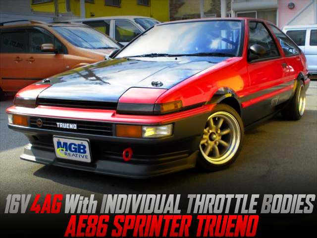 16V 4AG with ITBs INTO AE86 SPRINTER TRUENO 3-DOOR HATCH.