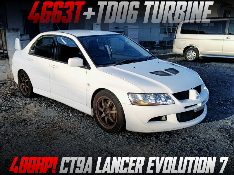 400HP TD06 TURBOCHARGED CT9A EVO7.