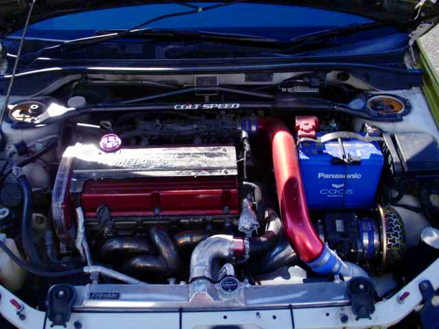 4G63T ENGINE OF EVO8 GSR MOTOR.