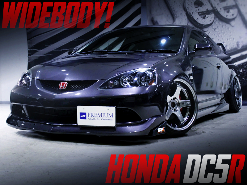 STANCE And CAMBER With WIDEBODY BUILT OF DC5 INTEGRA TYPE-R.