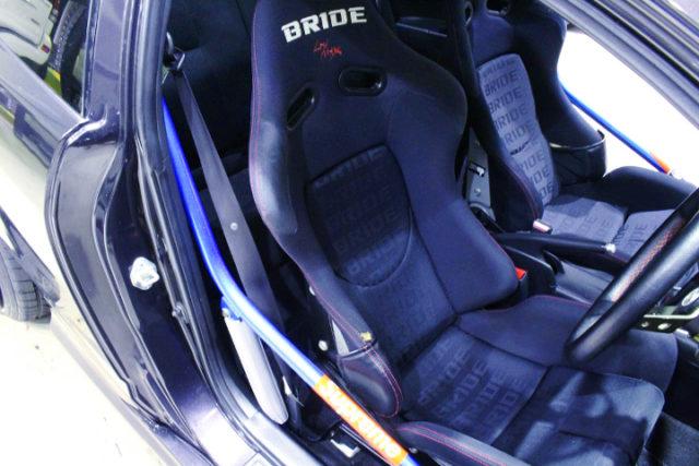 BRIDE BUCKET SEAT.