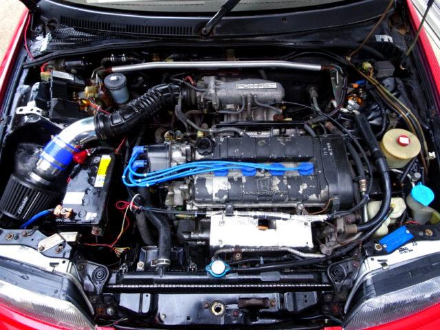 ZC 1.6L DOHC ENGINE.