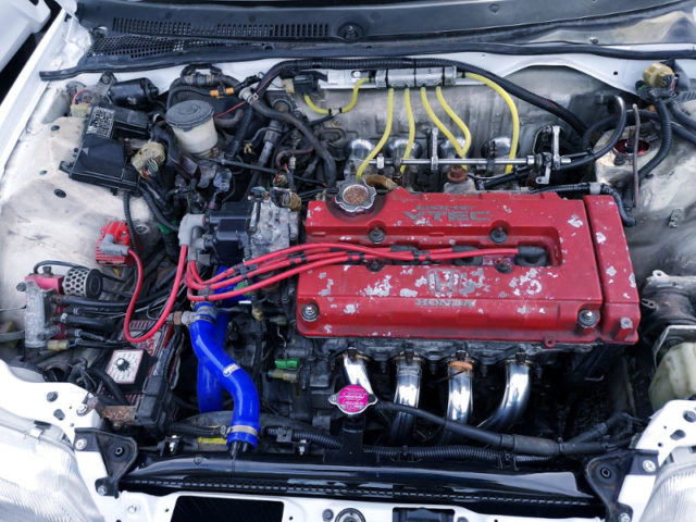 B18C VTEC ENGINE with ITBs.