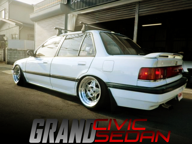 US and STANCE CUSTOM OF GRAND CIVIC SEDAN EF.