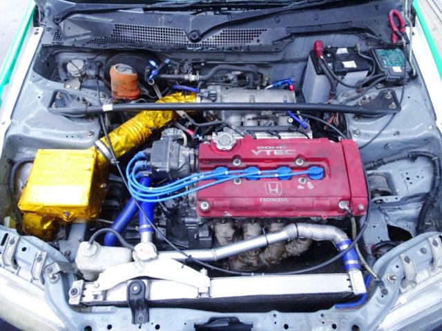 B16A 1.6-liter VTEC ENGINE.