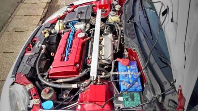 1.8L STROKED B16B VTEC ENGINE.