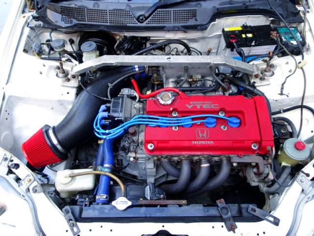 TYPE-R B18C 1.8L VTEC ENGINE.