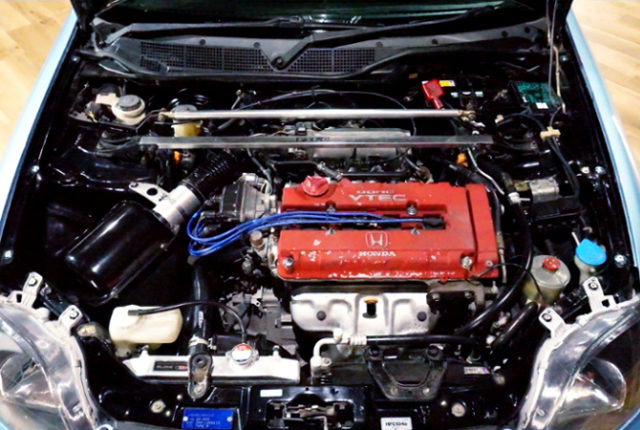 B16B 1.6L VTEC ENGINE OF EK9R MOTOR.