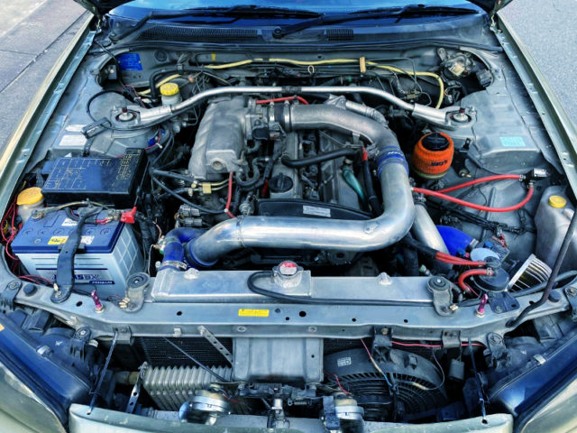 RB25DET GT2540 TURBO ENGINE.