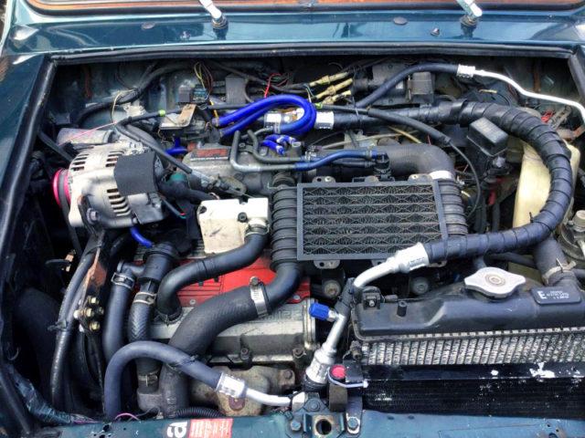 F6A TWINCAM TURBO ENGINE.