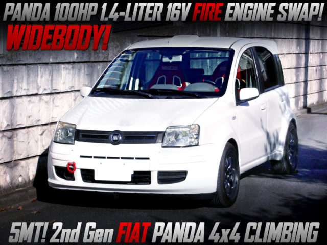100HP FIRE 1.4L ENGINE SWAP and 2nd Gen FIAT PAND 4X4 CLIMBING WIDEBODY.
