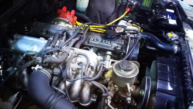 SINGLE CAM 1G-EU ENGINE.