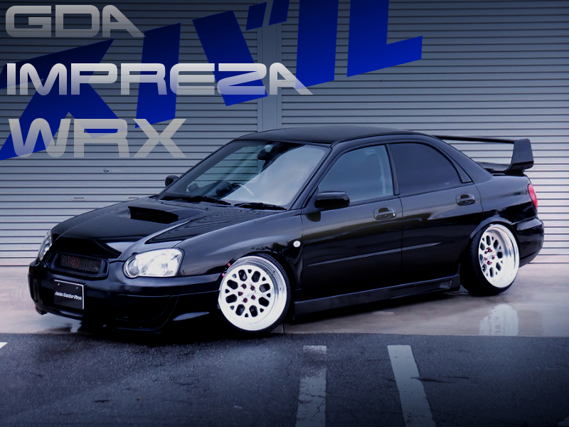 STANCE And CAMBER OF GDA IMPREXA WRX.