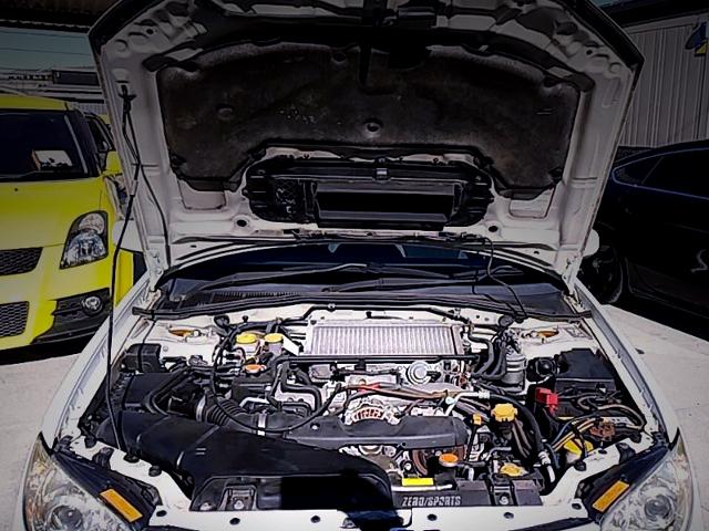 EJ205 BOXER TURBO ENGINE.