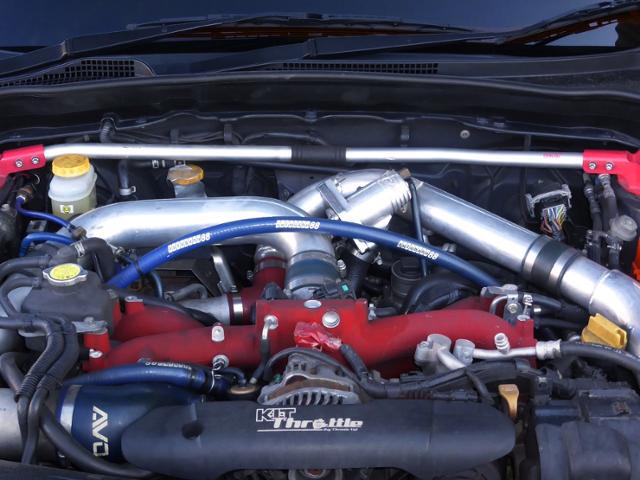 EJ207 BOXER TURBO ENGINE.