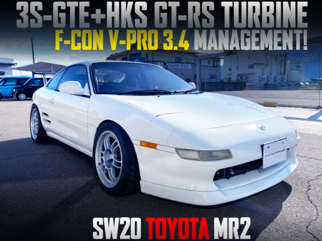 HKS GT-RS TURBINE and F-CON V-PRO With SW20 MR2.