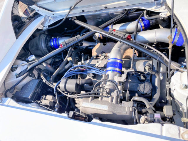 3S-GTE TURBO ENGINE with HKS GT-RS TURBINE.