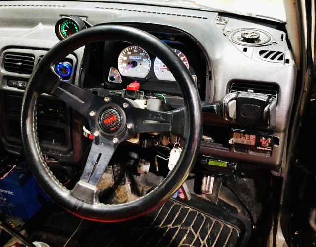 STEERING AND SPEED CLUSTER OF HA21S ALTO WORKS RSZ.