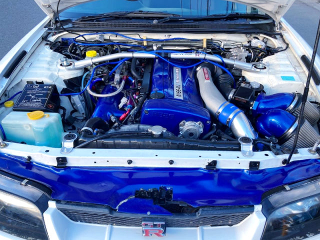 RB26DETT with HKS TWIN TURBO.