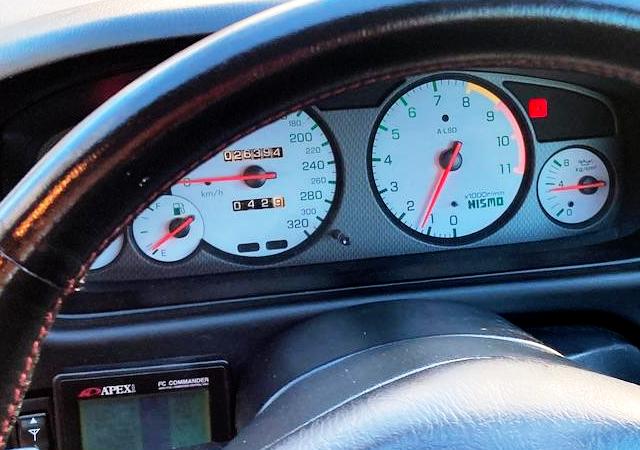 NISMO 320km/h SCALE CLUSTER.