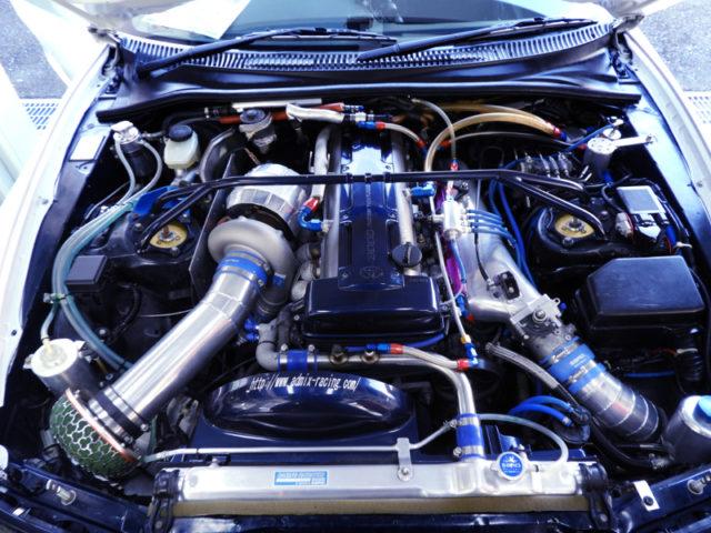 3.1L T88-33D TURBOCHARGED 2JZ-GTE.