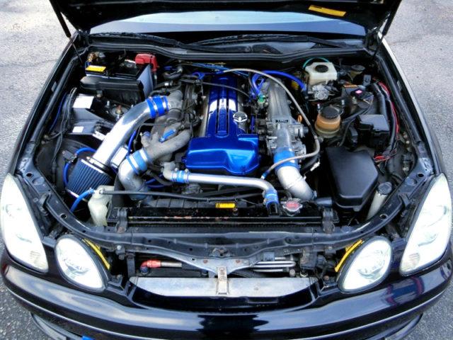 VVT-i 2JZ-GTE TWIN TURBO ENGINE.