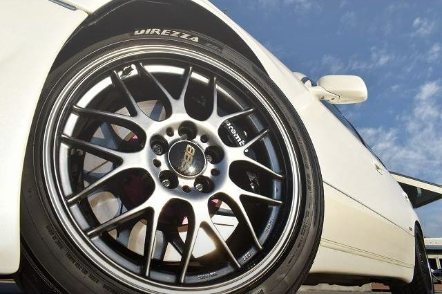 FRONT BBS WHEEL and BREMBO CALIPER.
