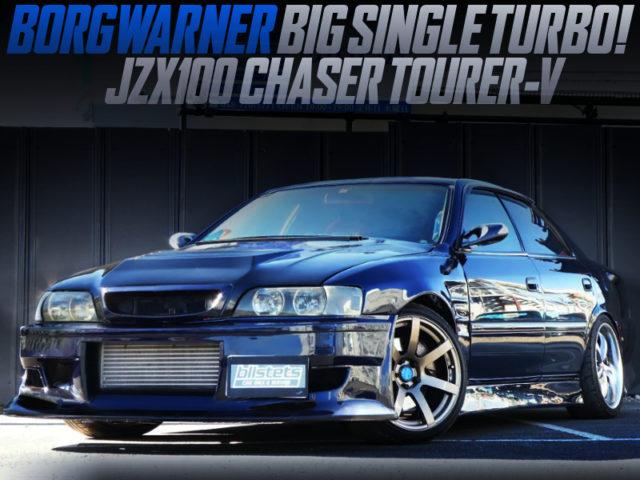 BORGWARNER SINGLE TURBOCHARGED JZX100 CHASER TOURER-V.