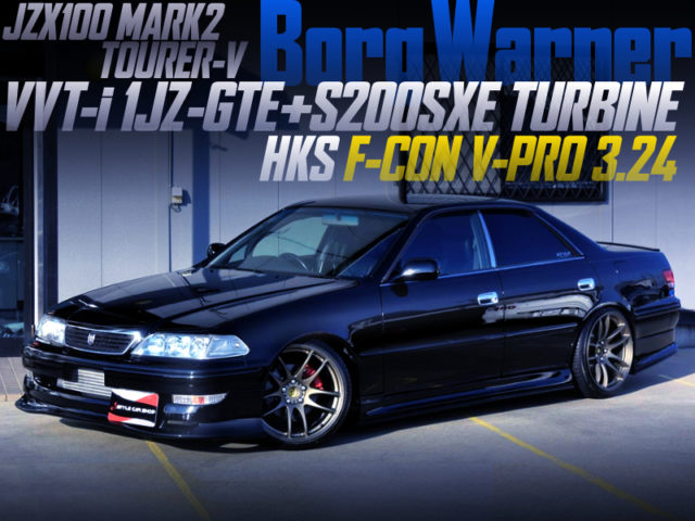 1JZ with S200SXE TURBINE And F-CON V-PRO INTO JZX100 MARK2.