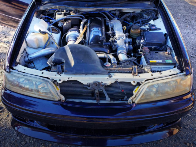HKS GT3040 TURBOCHARGED 1JZ-GTE ENGINE.