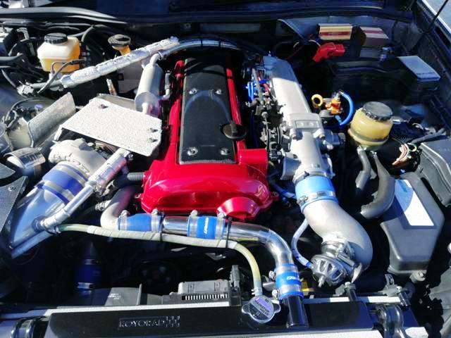 1.5JZ 3.0L GT3037Pros SINGLE TURBO ENGINE.