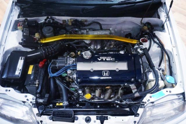 B16 VTEC ENGINE OF EF9 CIVIC MOTOR.