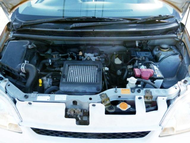 EF-DET 660cc TURBO ENGINE.