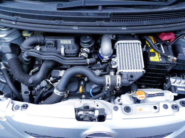 KF-DET TURBO ENGINE.